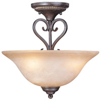 Jeremiah by Craftmade Sheridan 3 Light Semi-Flush in Forged Metal 22033-FM