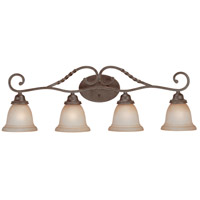 Craftmade 22404-ET Sutherland 4 Light 36 inch English Toffee Vanity Light Wall Light