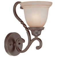 Sutherland 1 Light 7 inch English Toffee Wall Sconce Wall Light in Light Umber Etched