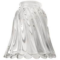 Ellington by Craftmade Tulip 2.25-inch Glass in Scalloped Clear 236-G