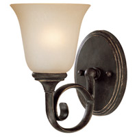 Barrett Place 1 Light 6 inch Mocha Bronze Wall Sconce Wall Light in Light Umber Etched