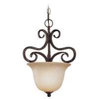 Torrey 1 Light 11 inch Burnished Armor Pendant Ceiling Light in Light Umber Etched