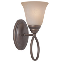Craftmade 25001-OLB Cordova 1 Light 6 inch Old Bronze Wall Sconce Wall Light in Painted Alabaster