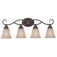 Jeremiah by Craftmade Cordova 4 Light Vanity Light in Old Bronze 25004-OB