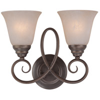 Jeremiah by Craftmade Cordova 2 Light Wall Sconce in Old Bronze 25022-OB