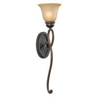 Jeremiah by Craftmade Highland Place 1 Light Wall Sconce in Mocha Bronze 25231-MB
