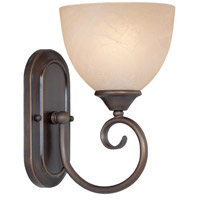 Jeremiah by Craftmade Raleigh 1 Light Vanity Light in Old Bronze 25301-OB