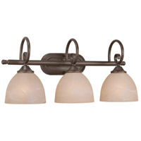 Jeremiah by Craftmade Raleigh 3 Light Vanity Light in Old Bronze 25303-OB