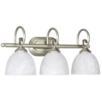 Jeremiah by Craftmade Raleigh 3 Light Vanity Light in Satin Nickel 25303-SN