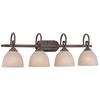 Jeremiah by Craftmade Raleigh 4 Light Vanity Light in Old Bronze 25304-OB