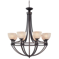 Jeremiah by Craftmade Seymour 8 Light Chandelier in Old Bronze 25428-OB