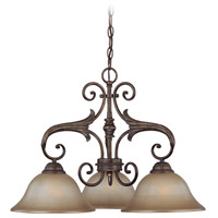 Jeremiah by Craftmade Ferentino 3 Light Chandelier in Burleson Bronze 25533-BBZ