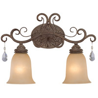 Jeremiah by Craftmade Englewood 2 Light Vanity Light in French Roast 25602-FR