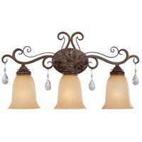 Jeremiah by Craftmade Englewood 3 Light Vanity Light in French Roast 25603-FR