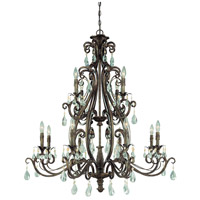 Jeremiah by Craftmade Englewood 12 Light Chandelier in French Roast 25612-FR