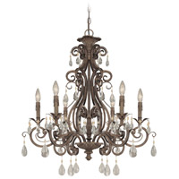 Englewood 6 Light 29 inch French Roast Chandelier Ceiling Light