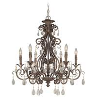 Craftmade 25626-FR Englewood 6 Light 29 inch French Roast Chandelier Ceiling Light alternative photo thumbnail