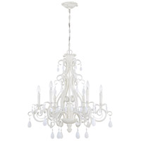 Englewood 6 Light 29 inch Gloss White Chandelier Ceiling Light