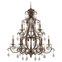 Jeremiah by Craftmade Englewood 9 Light Chandelier in French Roast 25629-FR