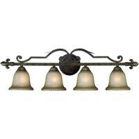 Jeremiah by Craftmade Devereaux 4 Light Vanity Light in Burleson Bronze 25704-BBZ