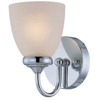 Spencer 1 Light 5 inch Chrome Wall Sconce Wall Light in Frosted