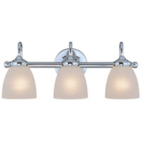 Craftmade 26103-CH Spencer 3 Light 20 inch Chrome Vanity Light Wall Light in Frosted