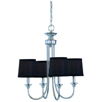 Craftmade 26124-CH Spencer 4 Light 16 inch Chrome Chandelier Ceiling Light in Frosted, Shades Sold Separately