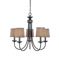 Jeremiah by Craftmade Spencer 9 Light Chandelier in Bronze 26125-BZ
