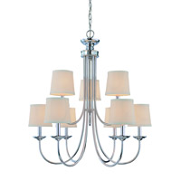 Jeremiah by Craftmade Spencer 9 Light Chandelier in Chrome 26129-CH