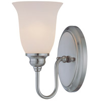 Jeremiah by Craftmade Linden Lane 1 Light Vanity Light in Satin Nickel 26301-SN