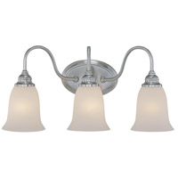 Jeremiah by Craftmade Linden Lane 3 Light Vanity Light in Satin Nickel 26303-SN