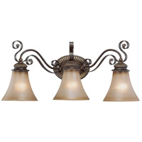 Jeremiah by Craftmade Kingsley 3 Light Vanity Light in Century Bronze 26503-CB