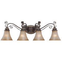 Jeremiah by Craftmade Kingsley 4 Light Vanity Light in Century Bronze 26504-CB