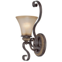 Jeremiah by Craftmade Kingsley 1 Light Wall Sconce in Century Bronze 26531-CB