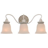 Jeremiah by Craftmade Zoe 3 Light Vanity Light in Antique Linen 27303-ATL
