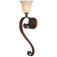 Jeremiah by Craftmade Seville 1 Light Wall Sconce in Spanish Bronze 28061-SPZ