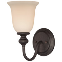 Willow Park 1 Light 9 inch Gothic Bronze Wall Sconce Wall Light in Golden Bronze
