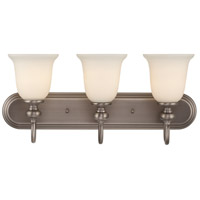 Willow Park 3 Light 24 inch Antique Nickel Vanity Light Wall Light