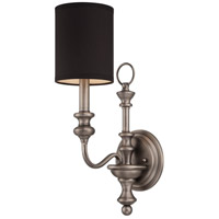 Jeremiah by Craftmade Willow Park 6 Light Wall Sconce in Antique Nickel 28561-AN