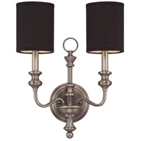 Jeremiah by Craftmade Willow Park 6 Light Wall Sconce in Antique Nickel 28562-AN