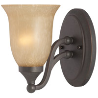 Jeremiah by Craftmade Edgefield 1 Light Vanity Light in Oil Rubbed Bronze 28701-ORB