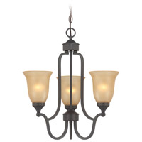 Jeremiah by Craftmade Edgefield 3 Light Foyer Pendant in Oil Rubbed Bronze 28723-ORB