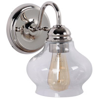Yorktown 1 Light 6 inch Polished Nickel Wall Sconce Wall Light