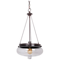 Jeremiah by Craftmade Yorktown 1 Light Pendant in Oiled Bronze Gilded 35041-OBG