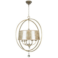 Windsor 6 Light 31 inch Athenian Obol Chandelier Ceiling Light