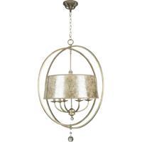Craftmade 35536-AO Windsor 6 Light 31 inch Athenian Obol Chandelier Ceiling Light