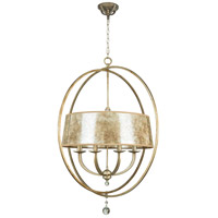 Craftmade 35538-AO Windsor 8 Light 36 inch Athenian Obol Chandelier Ceiling Light