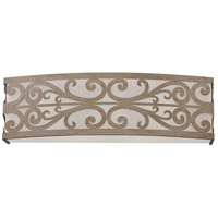 Craftmade 35803-AO Worthington 3 Light 19 inch Athenian Obol Vanity Light Wall Light in Frosted