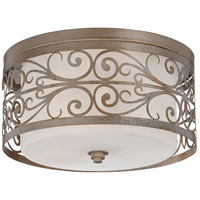Jeremiah by Craftmade Worthington 3 Light Flushmount in Athenian Obol 35883-AO