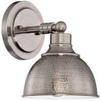 Jeremiah by Craftmade Timarron 1 Light Wall Sconce in Antique Nickel 35901-AN